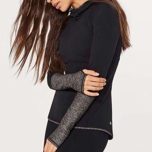 Lululemon Shape Up Pullover (Nulu) Heathered Black